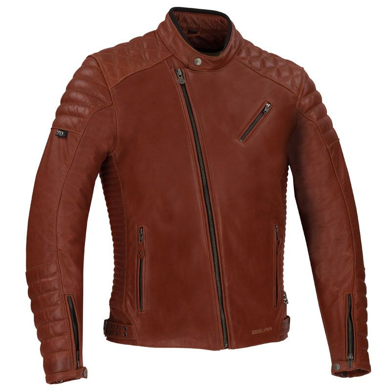 Collection Piel Gomore Segura Racer Chaqueta Moto Cafe vqPvwpx