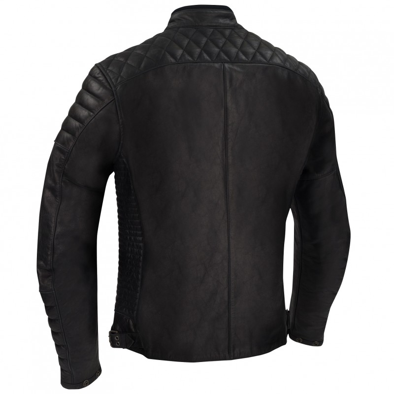 GOMORE CHAQUETA SEGURA Racer Cafe PIEL MOTO Collection wE8EZa